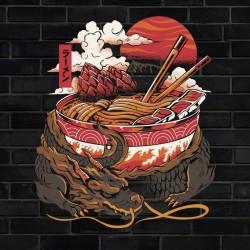 Tee Shirt Dragon