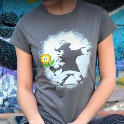 T-Shirt Femme Banksy