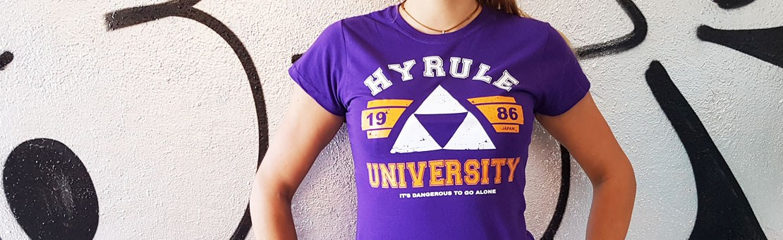 T-Shirt Hyrule university Askew Gaming